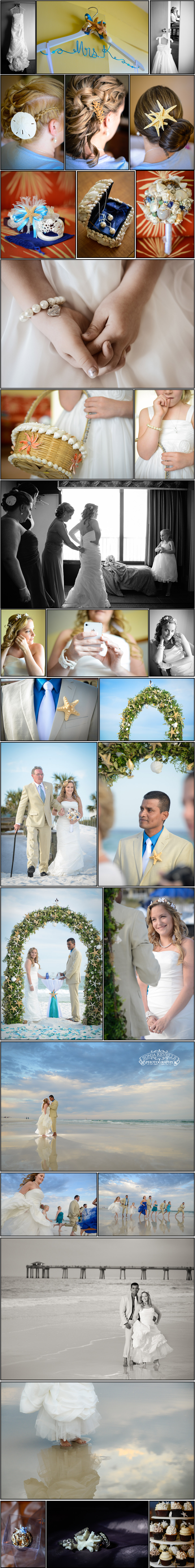 Seashells... Seashore.. Love... and a Wedding