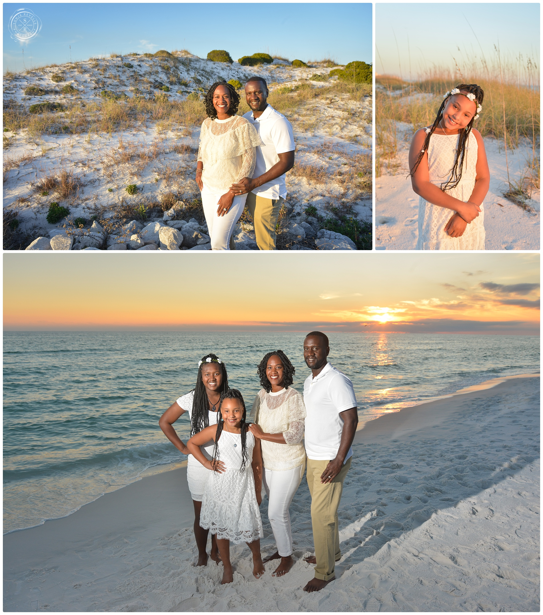 Beach Family Portrait Photographer,Destin Photographer,