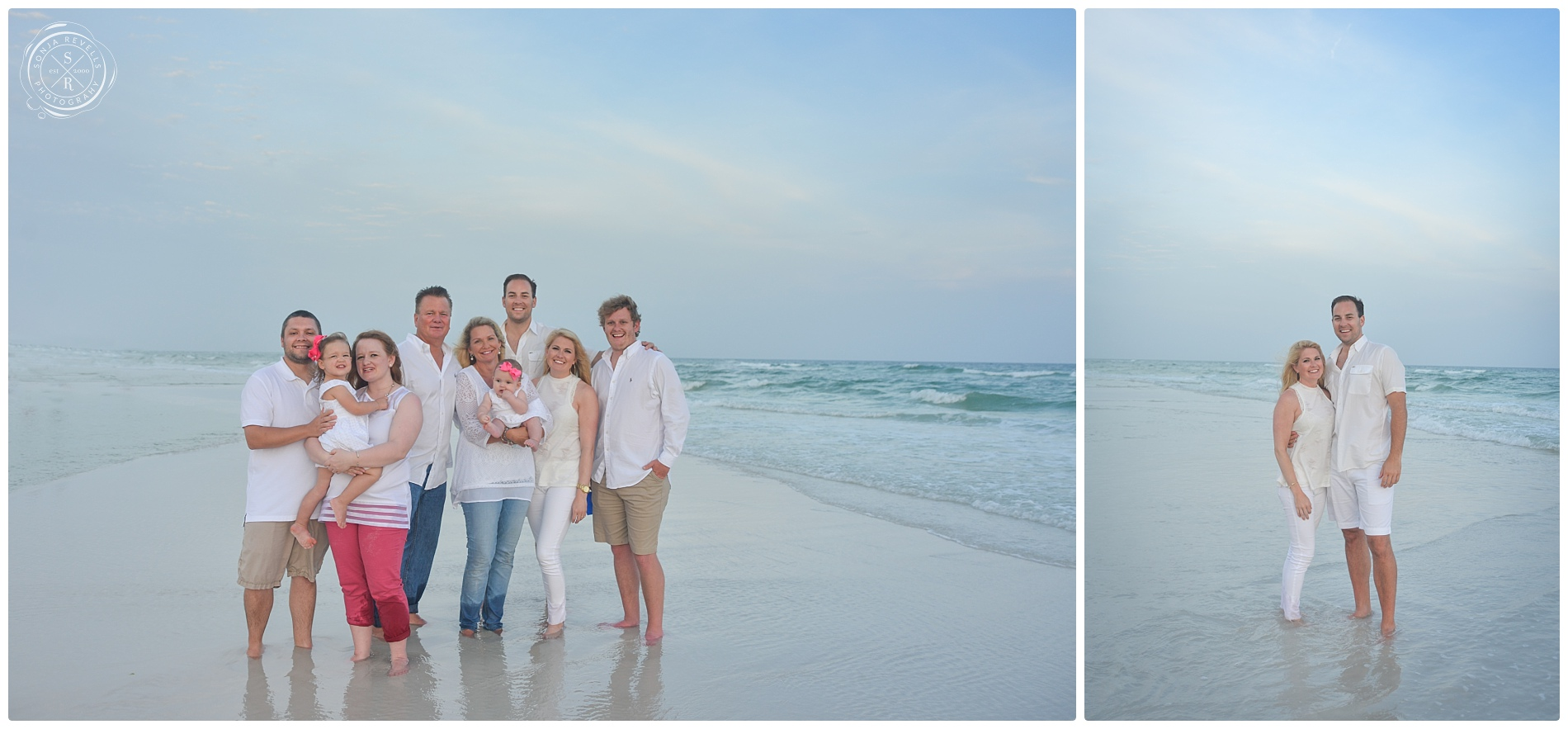 Beach Family Portrait Photographer,Wedding Photography,