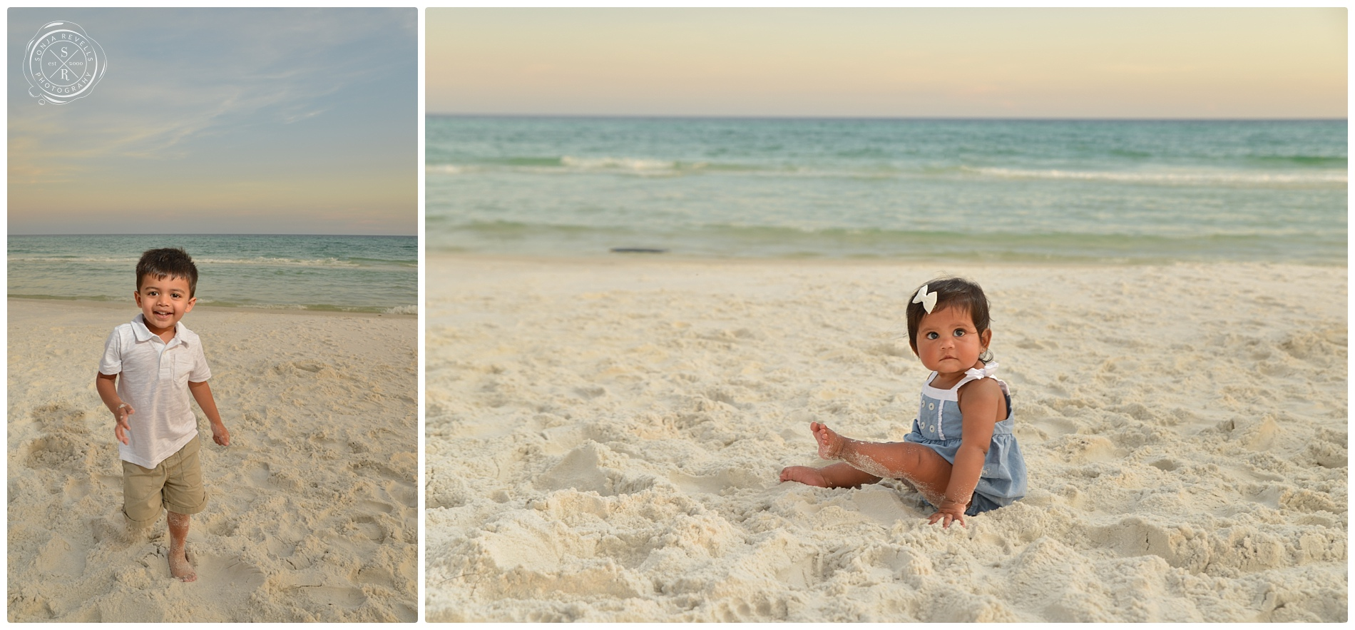 Beach Sunset Session and Gender Reveal